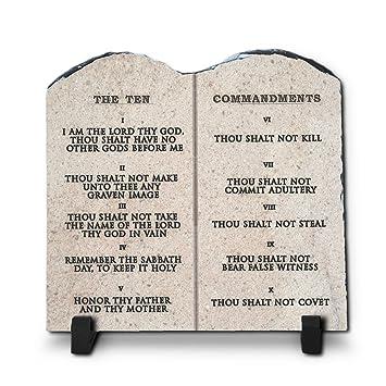10 commandments kjv