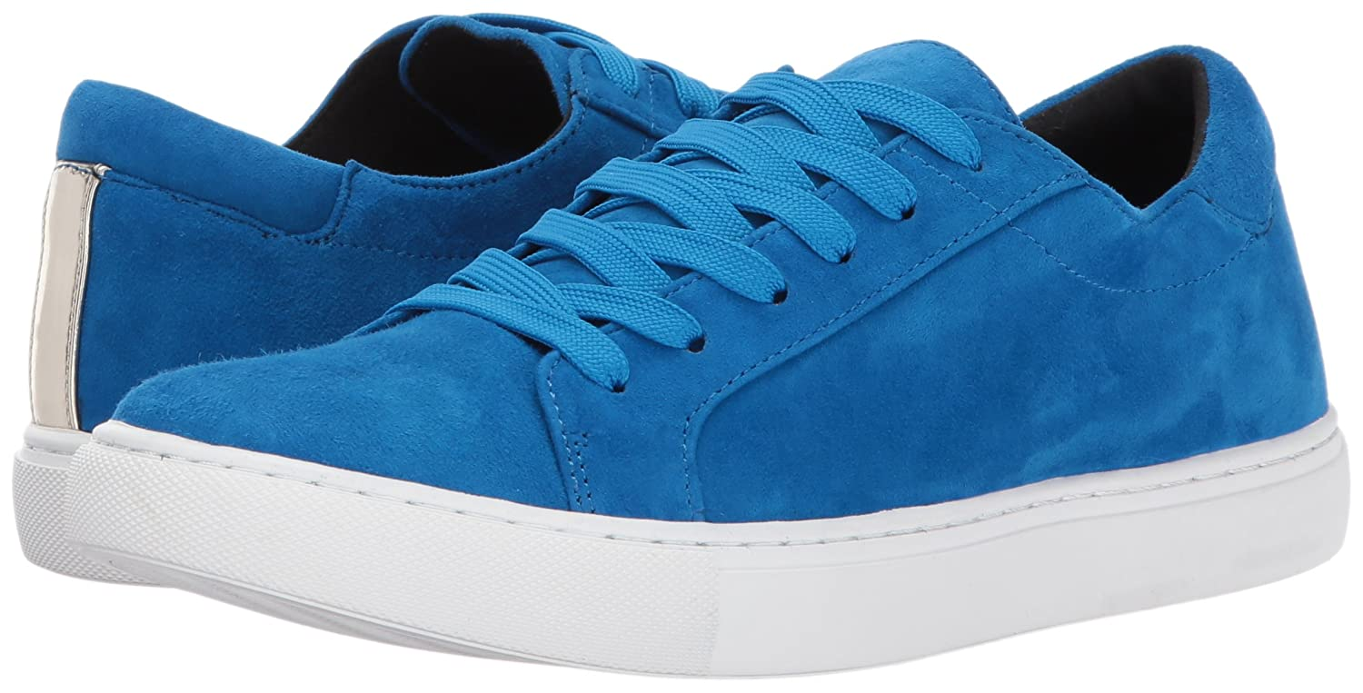Kenneth Cole New York Womens Kam Lace-up Low Top Fashion Sneaker Suede