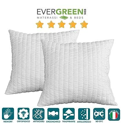 Evergreenweb - Coppia Imbottitura per Cuscini Arredo in Memory Foam ...