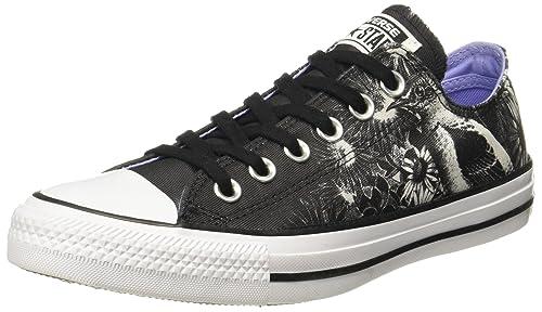 oxígeno Escandaloso reacción  Buy Converse Women's Black/White Sneakers - 6 UK/India (39 EU)(559846C) at  Amazon.in