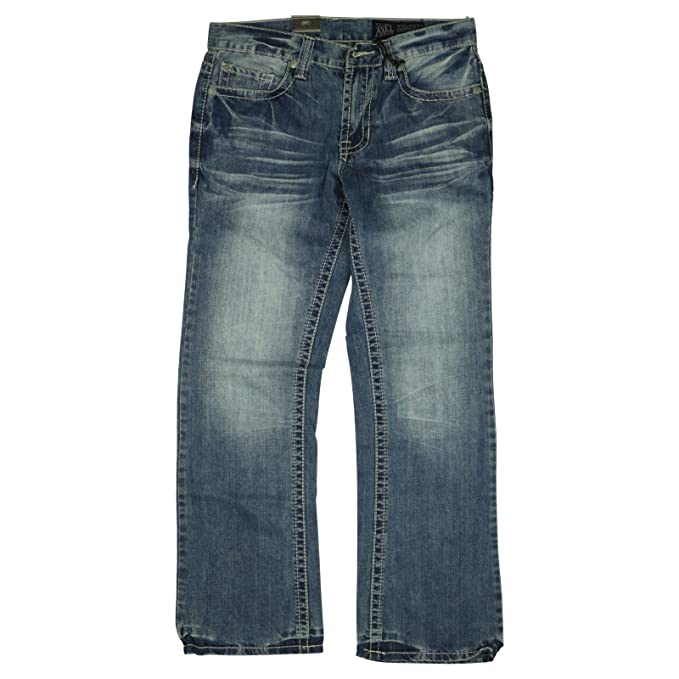 ab31002749f Axel Mens Wolcott Vintage Boot Cut Jeans 32X32 Cromwell: Amazon.ca ...
