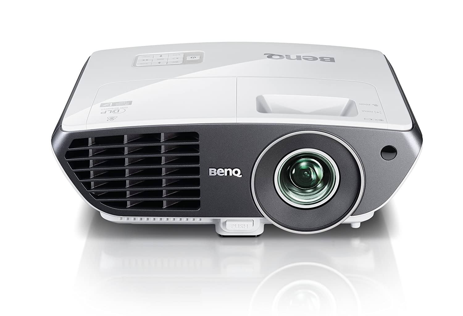 Amazon.com: BenQ W710ST Short Throw HD DLP Home Theater Projector ...
