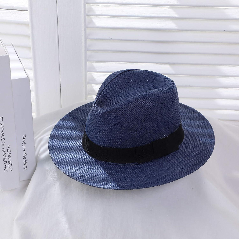 wtnhz Sombrero de Copa British Jazz Beach Sunscreen Sun Hat ...