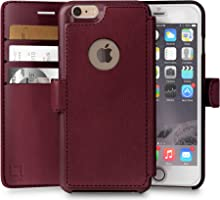 iPhone 6 Plus,6s Plus Wallet Case | Durable and Slim | Lightweight with Classic Design & Ultra-Strong Magnetic Closure |...