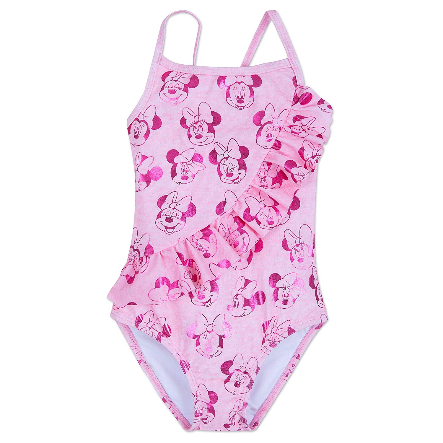 Disney Minnie Mouse Swimsuit for Kids Pink