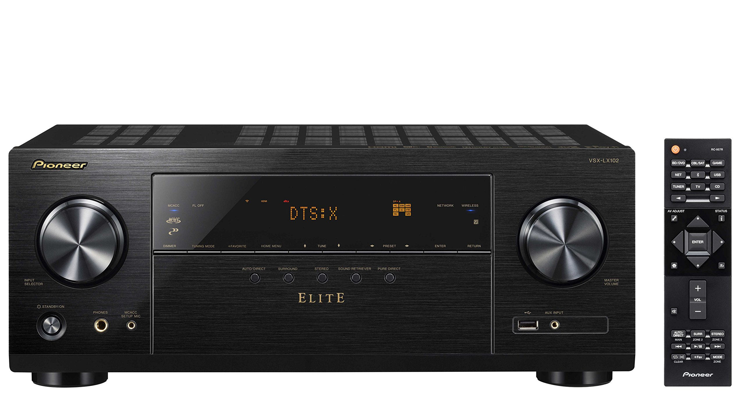 Pioneer Elite Audio & Video Component Receiver black (VSX-LX102)