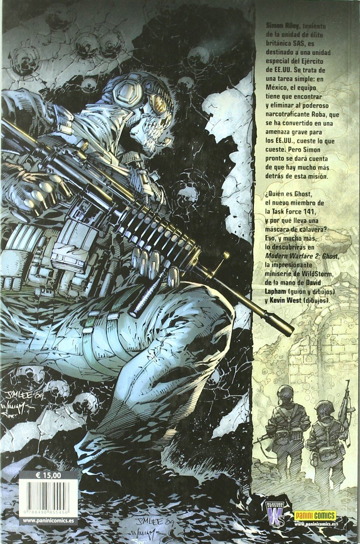 MODERN WARFARE GHOST CUANDO LLEGA LA MUERTE: 9788498855456: Amazon.com: Books