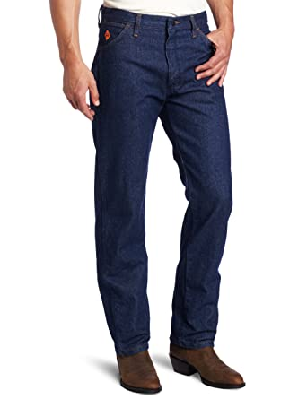 57cc3ac4685c Amazon.com  Wrangler Men s Tall Flame Resistant Relaxed Fit Jean  Clothing