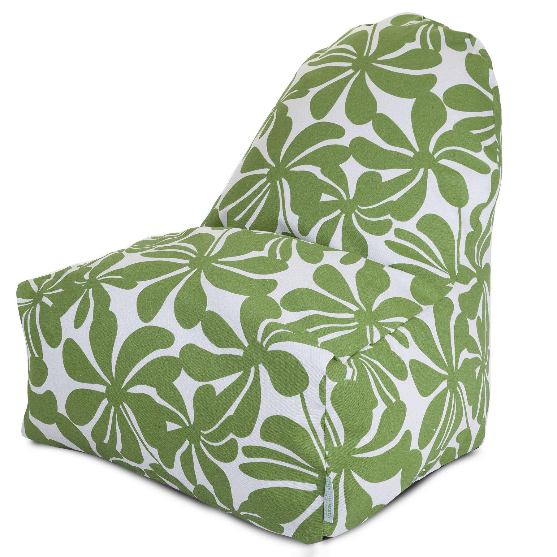 Majestic Home Goods Kick-It Chair, Plantation, Sage