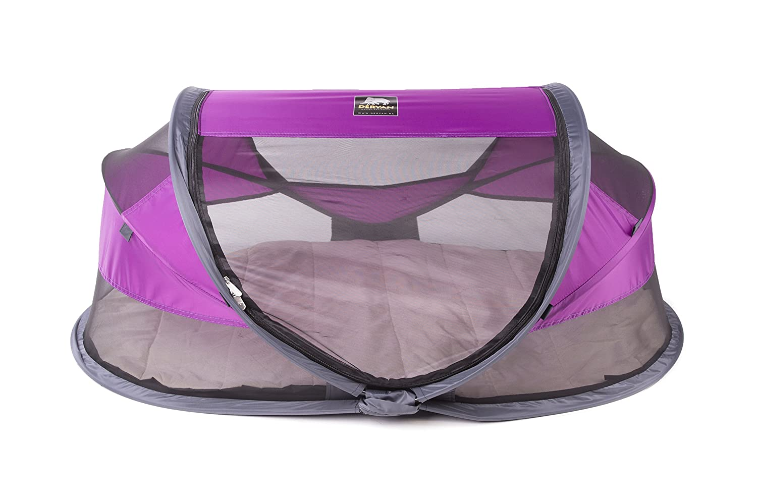 Deryan Travel Cot Bébé Luxe Pourpre BL-PURPLE