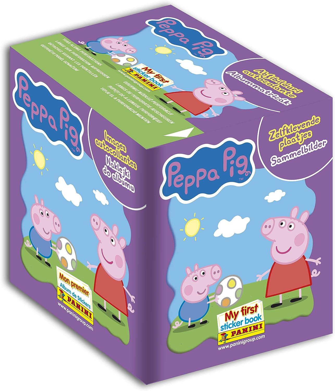 Panini 2514-004 Peppa Pig - Caja de 50 Fundas: Amazon.es: Juguetes ...