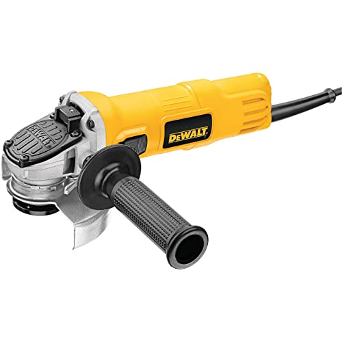 DEWALT DWE4011R 4-1 2-Inch Small Angle Grinder With One-Touch Guard Renewed