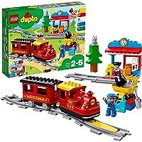 LEGO-10874 Treno a Vapore, Multicolore, 10874
