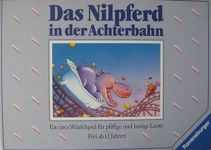 Ravensburger Das Nilpferd In Der Achterbahn Amazonde Spielzeug