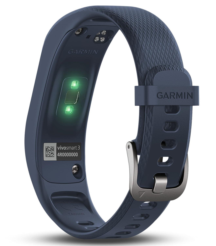 77f1fd2ef6f4f3 Garmin Vivosmart 3 Fitness Tracker con Sensore Cardio al Polso, Schermo  Touch Invisibile e Smart Notification: Amazon.it: Sport e tempo libero