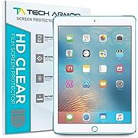 Tech Armor iPad Pro 9.7-inch (2016/2017) Screen Protector, Anti-Glare/Anti-Fingerprint Apple iPad Pro 9.7-inch Film Screen Protector [2-Pack]