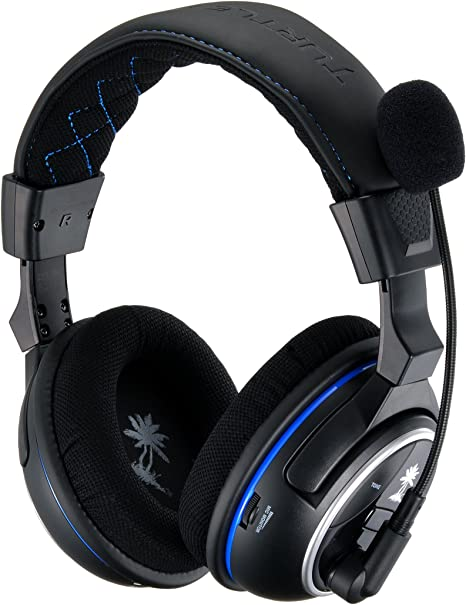 Turtle Beach Ear Force PX4 Premium Wireless Gaming Headset with Dolby Surround Sound and PS4 Talkback Cable for PlayStation 4, PlayStation 3, Xbox 360 and mobile devices by Turtle Beach: Amazon.es: Videojuegos