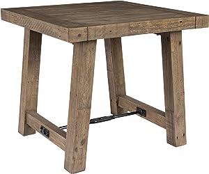 Kosas Home End Table, Desert Gray