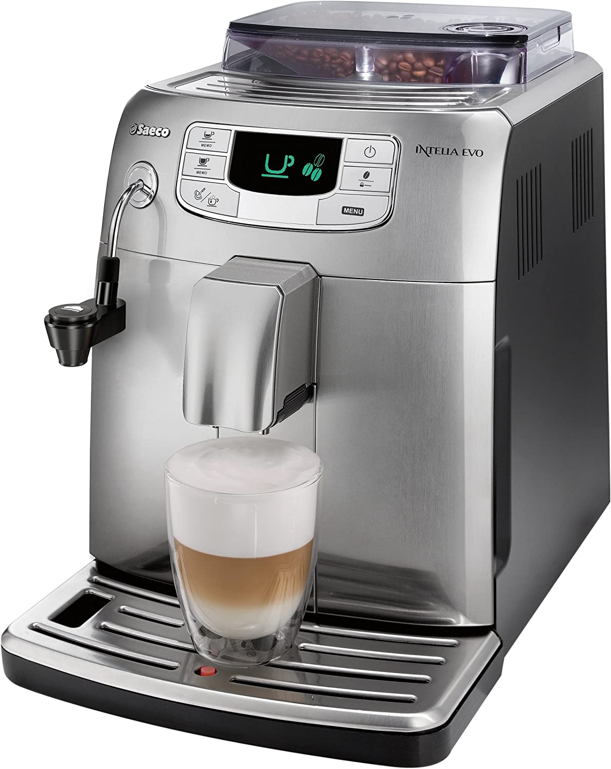 Philips Saeco Intelia Evo - Cafetera (Independiente, Totalmente ...