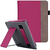WALNEW Cover Fits Kindle Paperwhite(10th Generation, 2018 Release) - Auto Sleep/Wake Smart Stand Case with Hand Strap for Kindle Paperwhite 10th Gen