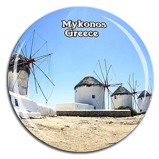 Weekino Kato Milli Molinos de Viento Mykonos Grecia Imán de Nevera ...