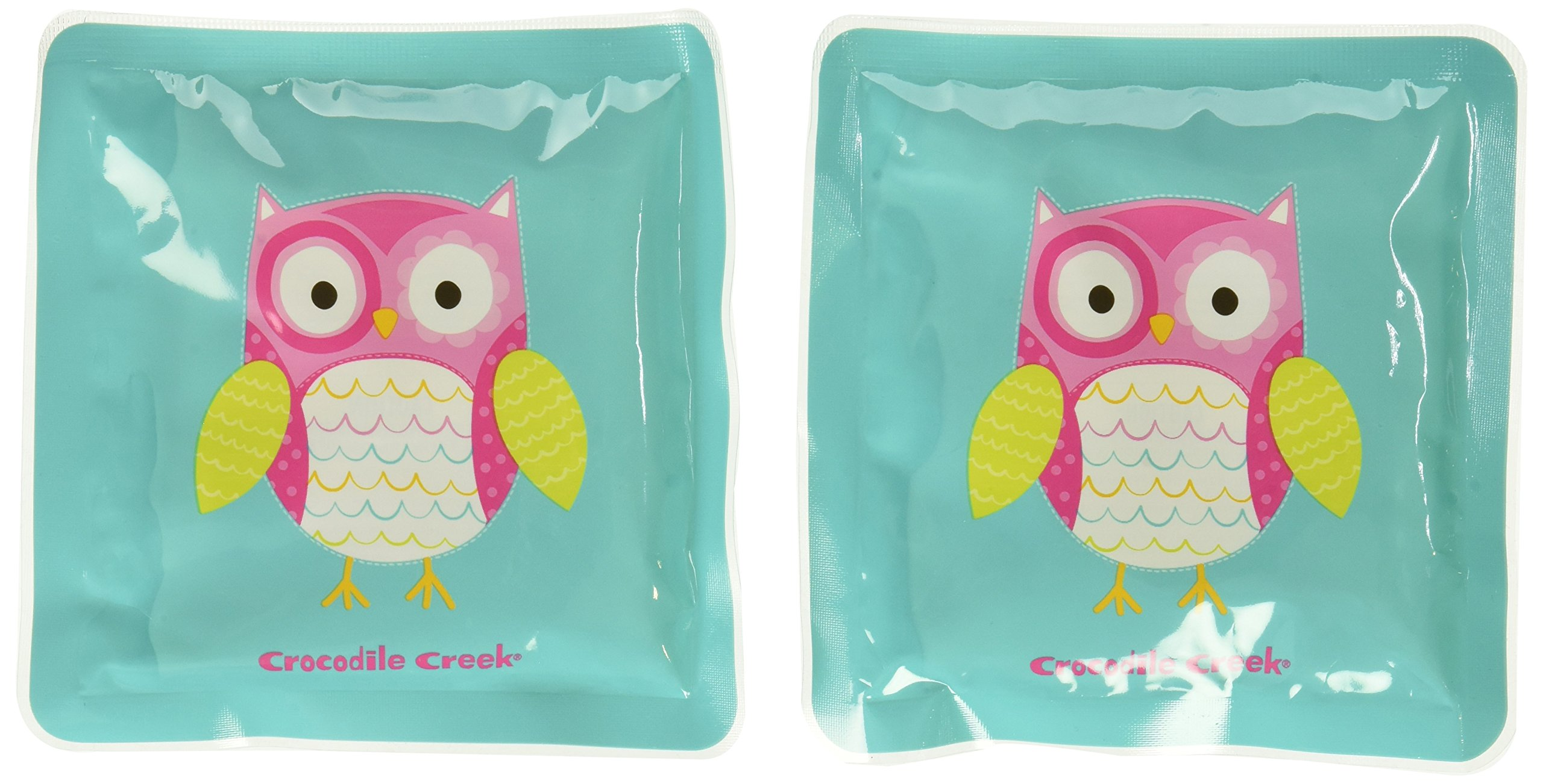 Crocodile Creek Girls Eco Reusable Owl Ice Packs For Lunch Boxes Set Of 2 Teal 5 Buy Online In Belize At Belize Desertcart Com Productid 17616185
