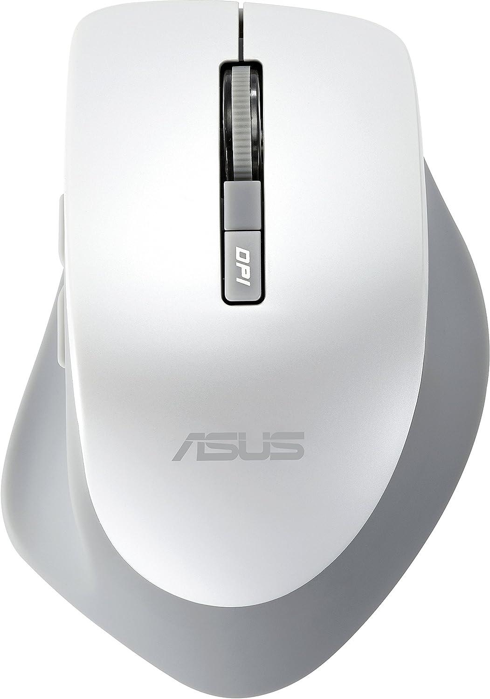 ASUS WT425 - Ratón (Mano Derecha, Óptico, RF inalámbrico, 1600 dpi, Perlado, Blanco)