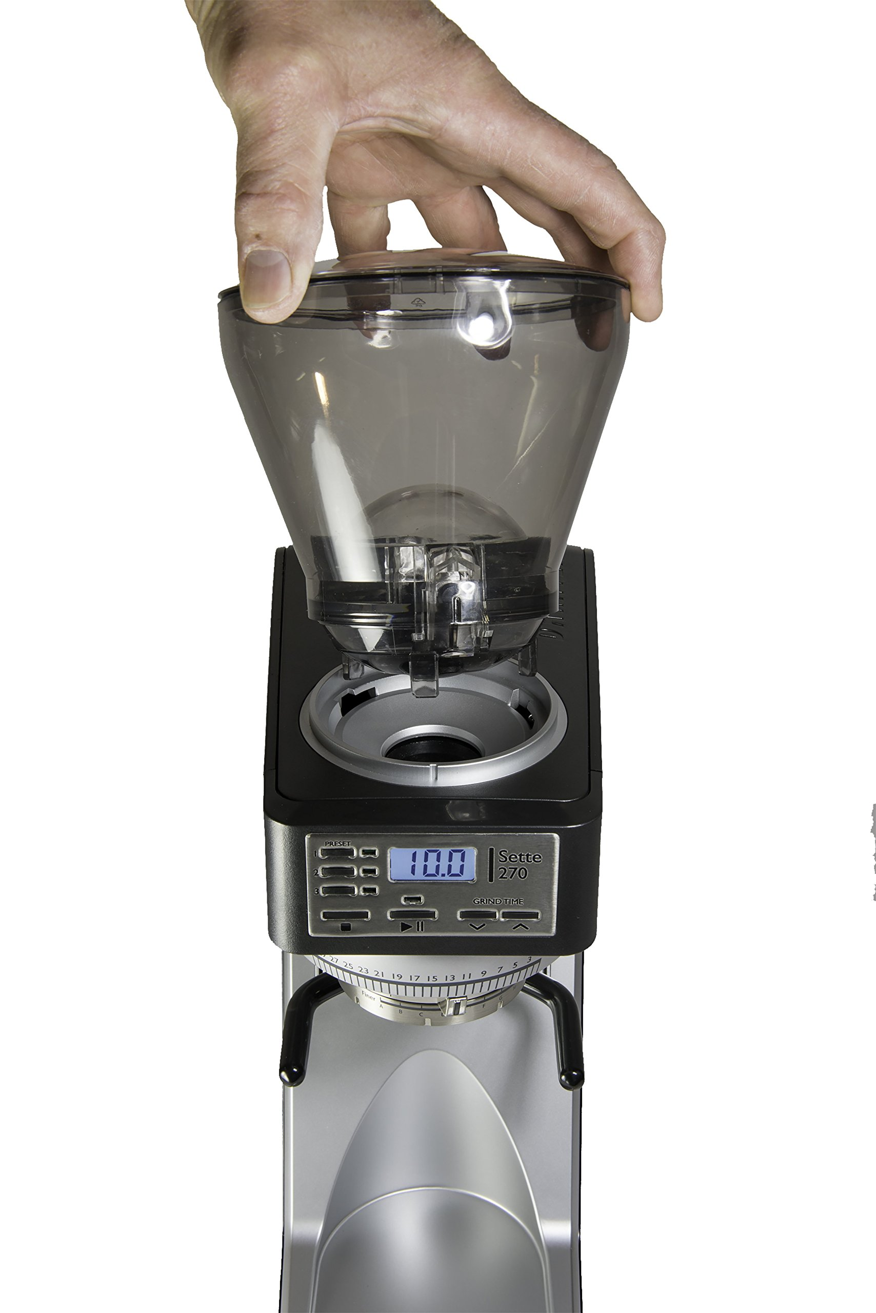Baratza Sette 270 - Conical Burr (with Grounds Bin and built-in PortaHolder) by Baratza (Image #4)