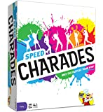 Charades Party Game – Speed Charades Board Game – Fast-paced Family Games - Perfect for Groups and Game Nights