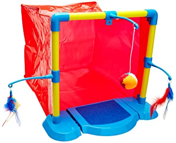 Hartz Hide Nu0027 Play Cat Activity Center (Colors/Styles Vary)  sc 1 st  Amazon.com & Amazon.com: Hartz Hide Nu0027 Play Cat Activity Center (Colors/Styles ...