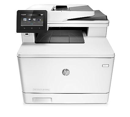 HP Color LaserJet Pro MFP M377dw - Impresora láser a color(A4, hasta 24 ppm, 750 a 4000 páginas al mes, USB 2.0 alta velocidad y de fácil acceso, Red ...