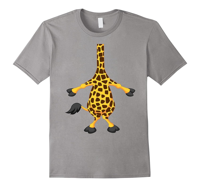Giraffe Halloween Costume Shirt Easy Funny Women Men Kids-FL