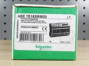 SCHNEIDER ELECTRIC ABE7E16SRM20 Telefast Sub-Base For Twido I/O Modules,16