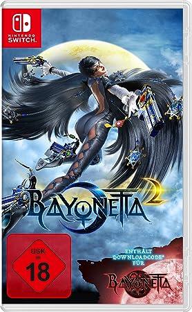 Nintendo Switch Bayonetta 2 Incl. Bayonetta 1 DLC USK 18: Amazon ...