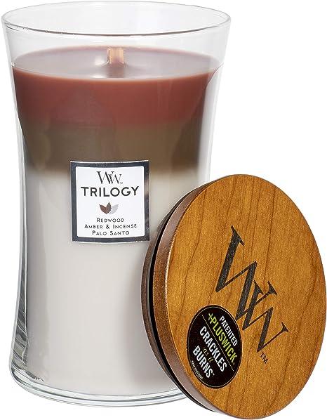Woodwick Forest Retreat GRANDE Jar Bougie parfumée 610 g