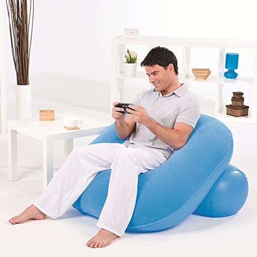 Bestway Comfort Quest Nestair sillón doble hinchable (azul ...
