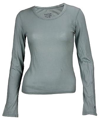 Big Star Women s Thin Lightweight Plain Long Sleeve T-Shirt (X-Small d808653a51c