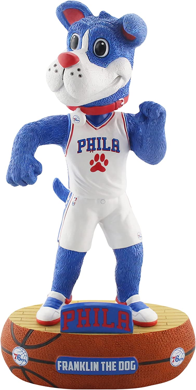 Amazon Com Forever Collectibles Philadelphia 76ers Mascot Philadelphia 76ers Baller Special Edition Bobblehead Sports Outdoors