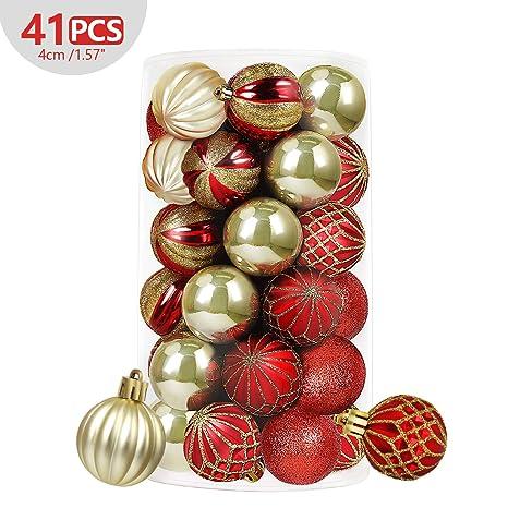 Weihnachtskugel Gold 7,5 cm Christbaum Weihnachten Tannenbaum Schmuck Foto Kugel