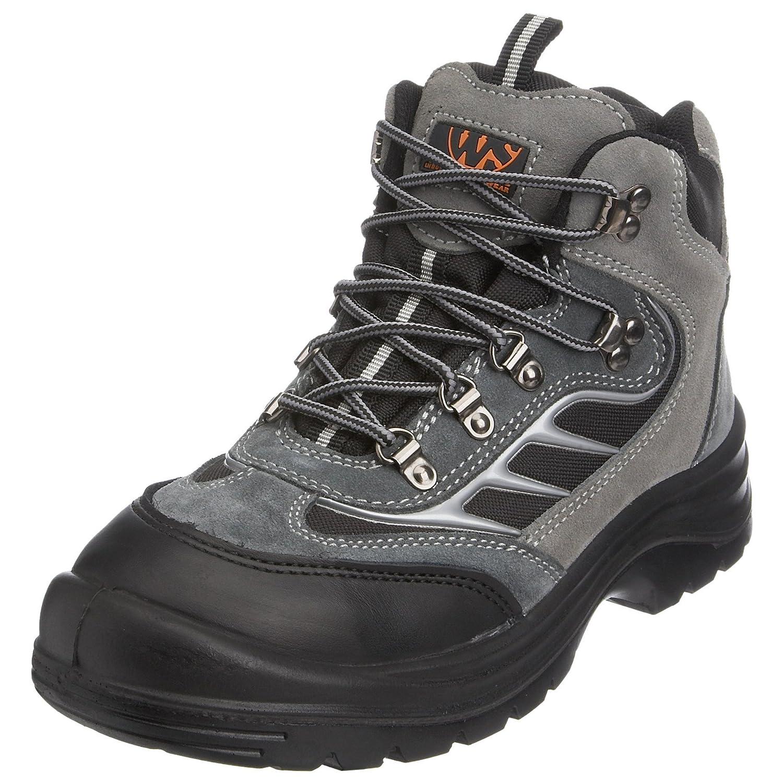 TALLA 42. Sterling Safetywear - Botas de Cuero para Hombre