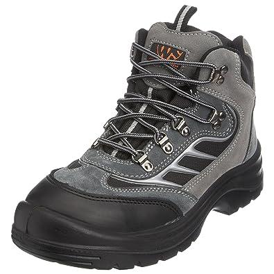 Sterling Safetywear Botas de cuero para hombre negro talla 39 EU