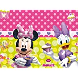Amscan Minnie Bow-Tique Table Cover Party Accessory