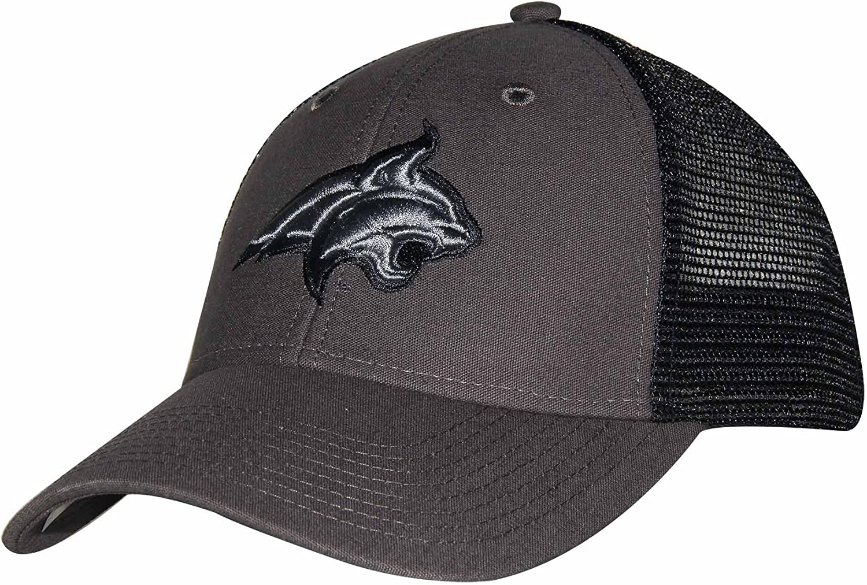 Ouray Sportswear NCAA Adult-Men Industrial Canvas Mesh Cap