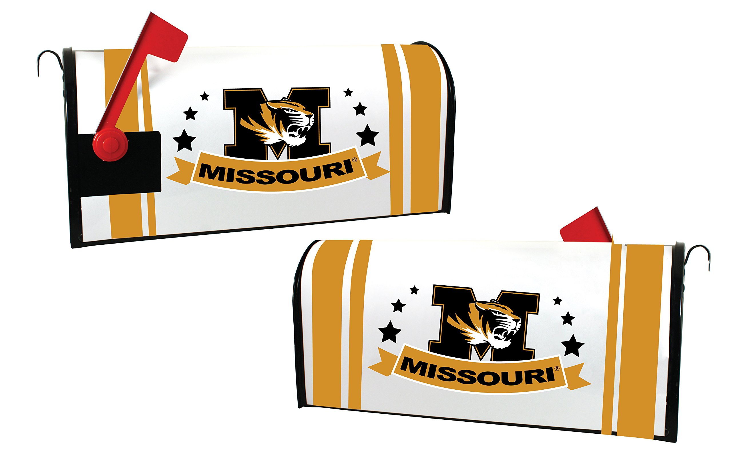 MISSOURI TIGERS MAILBOX COVER-MIZZOU MAGNETIC MAIL BOX COVER-NEW FOR 2016!
