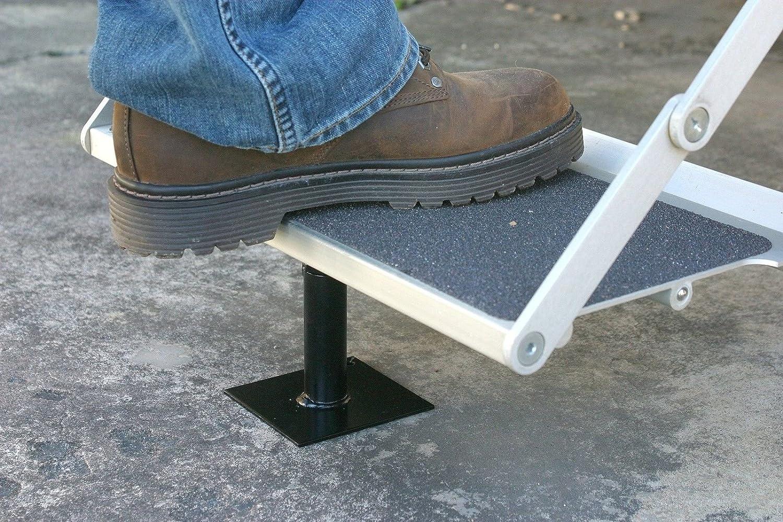 CPW (TM) RV paso Brace estabilizador Camper remolque escalera nivelador apoyo seguridad parte: Amazon.es: Coche y moto