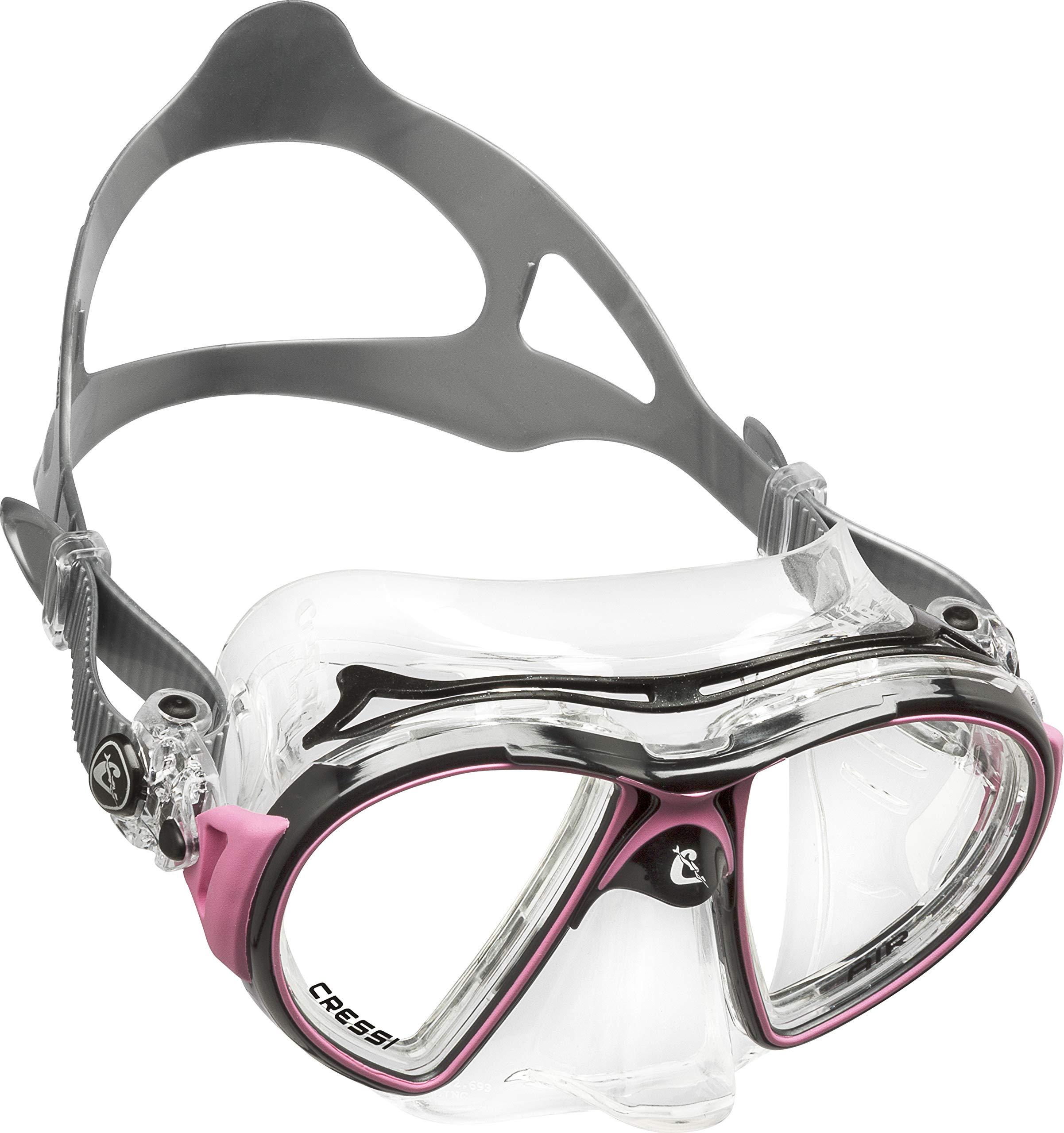 Cressi Air Crystal, black/pink by Cressi