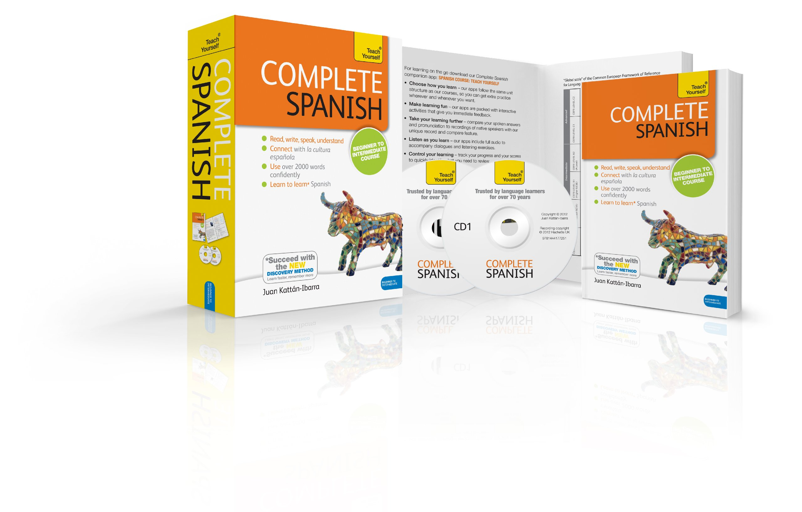 Complete Spanish Beginner to Intermediate Book and Audio Course ...