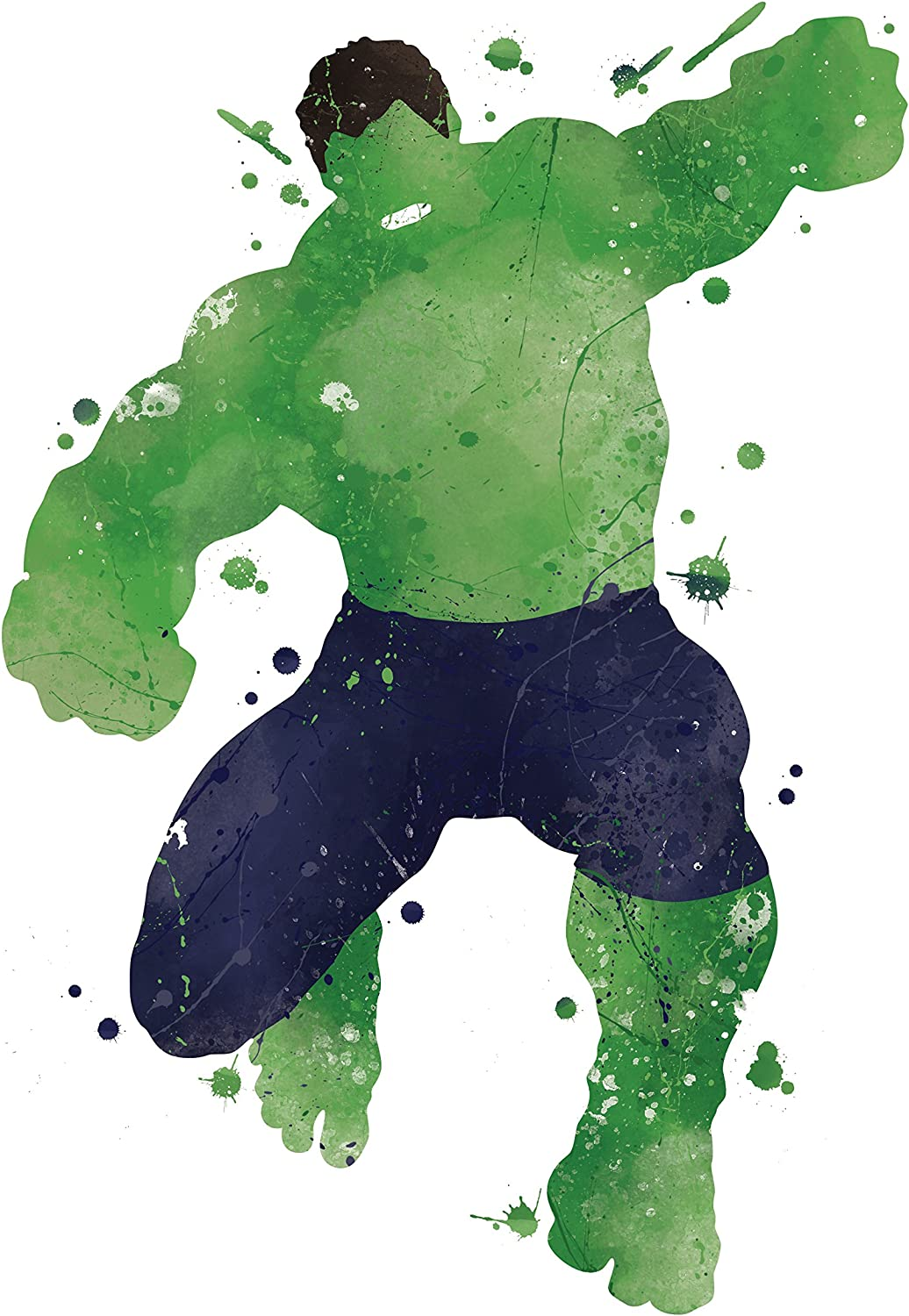 PGbureau 8x10 P06 Hulk Poster. Inspired Watercolor Illustration.Avengers Poster. Superhero Poster. Wall Art.Art Print.Wall Decor.Hulk Pictures.Kids Room Wall Art.for Wall.