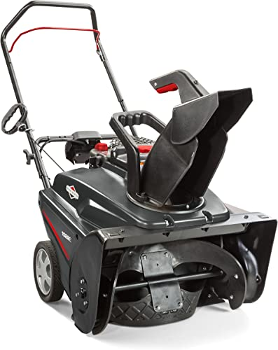 Briggs Stratton 1022E 22-Inch Single-Stage Snow Blower with Push Button Electric Start