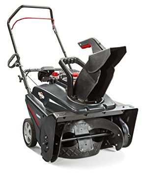 Briggs & Stratton 1696509 Single Stage Snow Thrower with 750 Snow Series 163cc Engine and Electric Start, 22